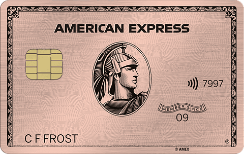 American Express Rose Gold Card